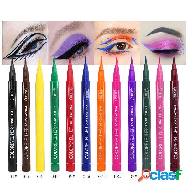 Colorful Delineador de ojos líquido Pluma Impermeable