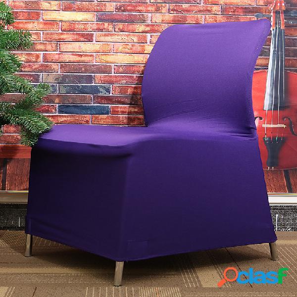 Elegante elástico elástico silla cubierta de asiento