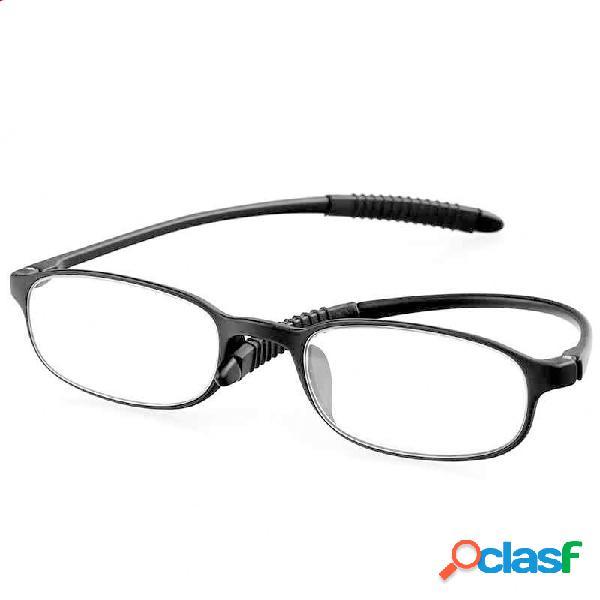 Minleaf TR90 Lectura irrompible ultraligera Gafas Lupa de