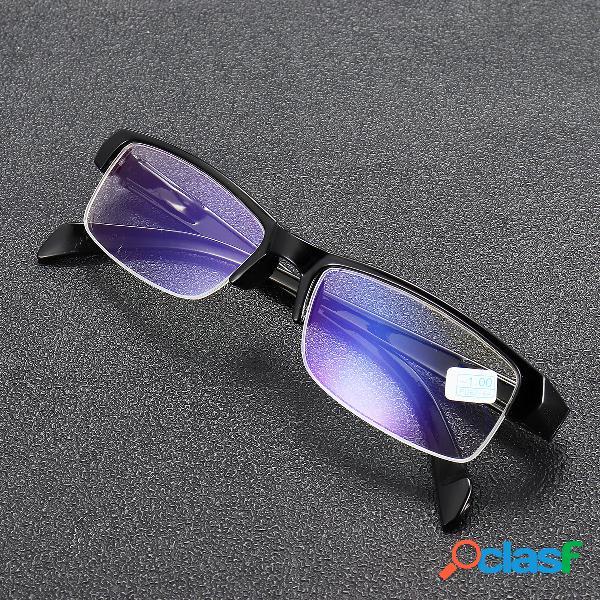 Miopía Gafas Claro Óptica Moda Medio marco Miope Gafas Ojo