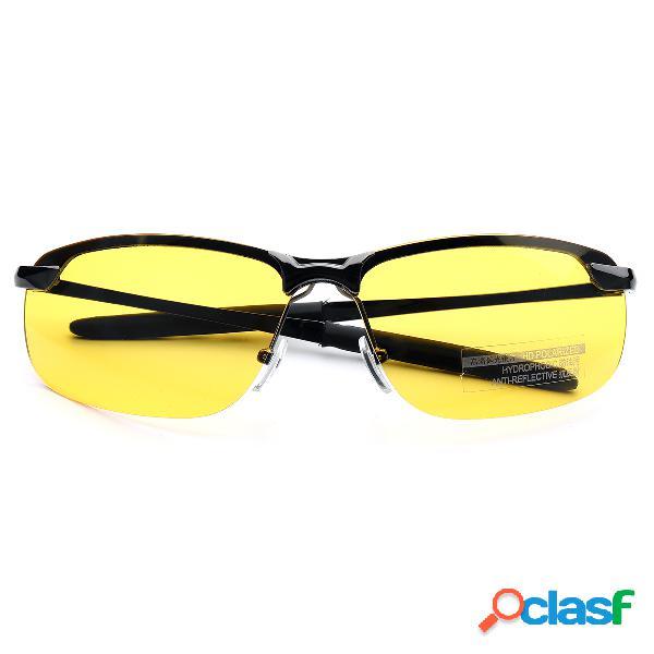 UV400 Gafas de sol polarizadas Driving Sun Gafas Gafas de