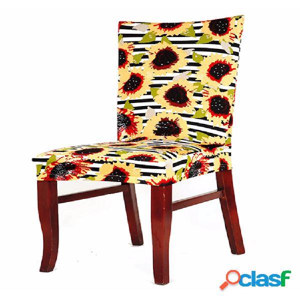 Nature Flower Patrón Funda para silla Universal Home Dining