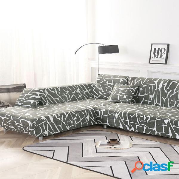 KCASA Fundas de sofá elásticas para sofá Funda de sillón