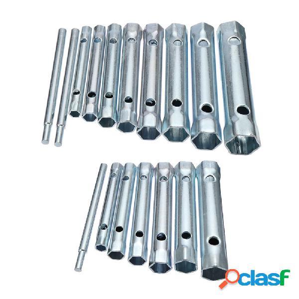 6 Unids 8-19mm / 10 unids 6-22mm Metric Tubular Box Wrench