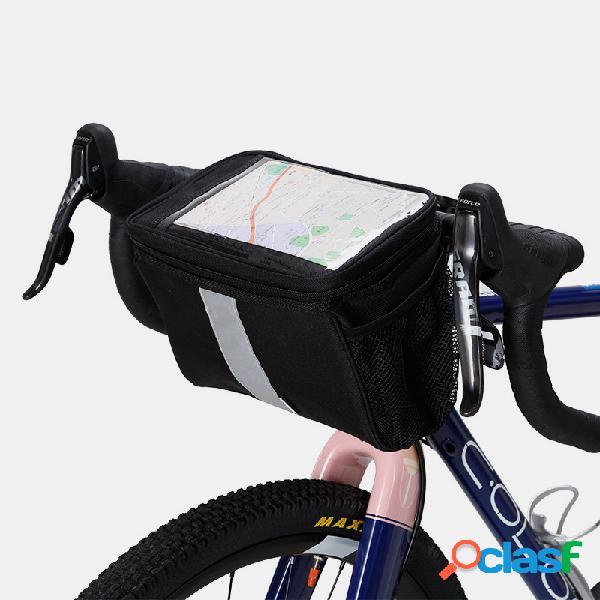Bicicleta Bolsa Bicicleta de montaña Viga delantera Bolsa