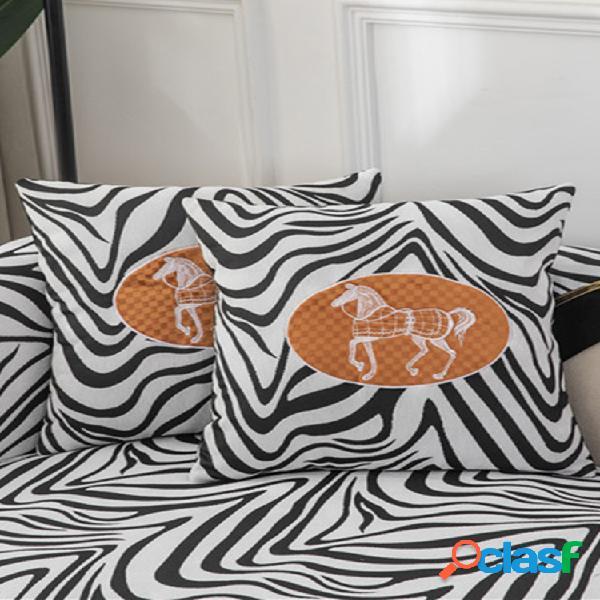 Cojín de sofá de chenilla Jacquard de 1 pieza Cojín de