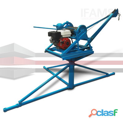 Malacate Integral HYPERMAQ Capacidad de carga: 400 kg