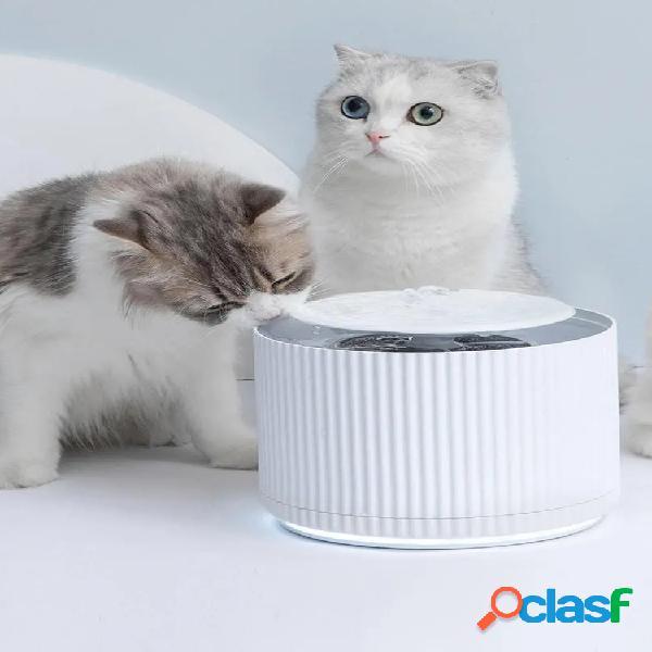 Dispensador de agua para mascotas inteligente Gato
