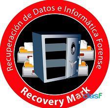 Recuperación de datos de discos duros dañados.