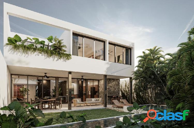 Preventa de lujosas casas en privada residencial en Conkal