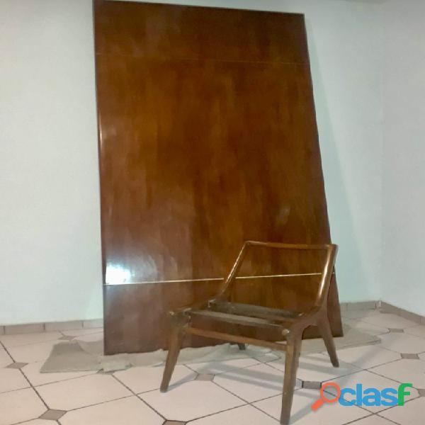 Juego de sillas y cubierta de mesa de Caoba