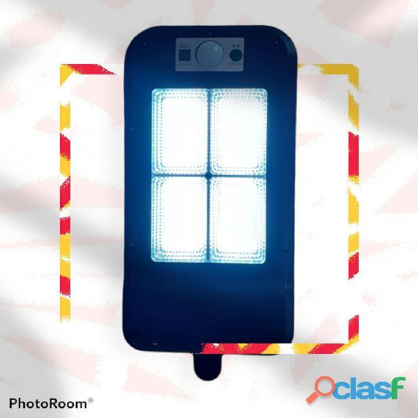 CELDA SOLAR, REFLECTOR LED de EXTERIOR con SENSOR de