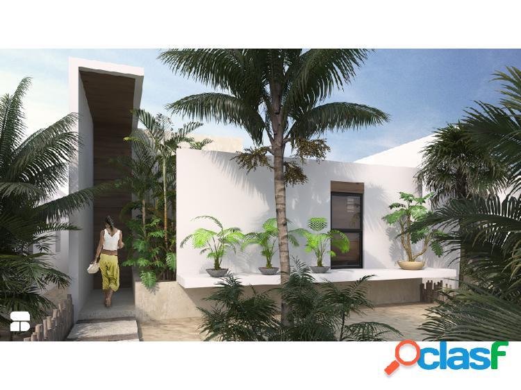 Venta de casas de un piso en playa de Chelem, Puerto