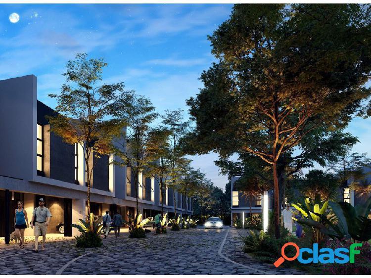 Preciosos Townhouses en Luana al Norte de Mérida